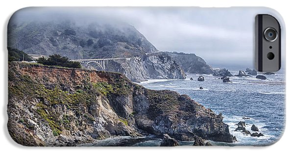 Pch iPhone Cases - Bixby Bridge - Large Print iPhone Case by Anthony Citro