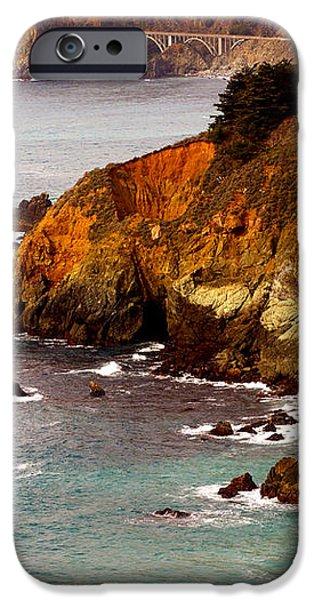 Bixby Bridge of Big Sur California iPhone Case by Barbara Snyder