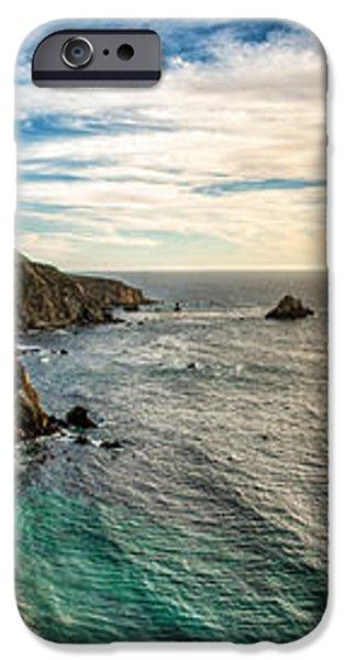 Bixby Bridge Panoramic iPhone Case by Josh Whalen