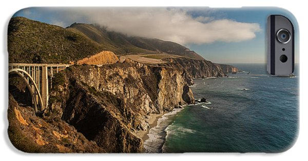 Big Sur iPhone Cases - Bixby Coastal Drive iPhone Case by Mike Reid