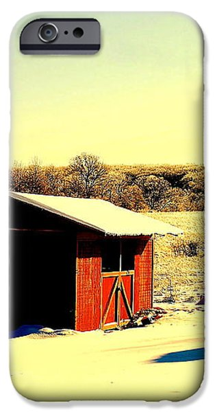 Black and Color iPhone Case by Frozen in Time Fine Art Photography