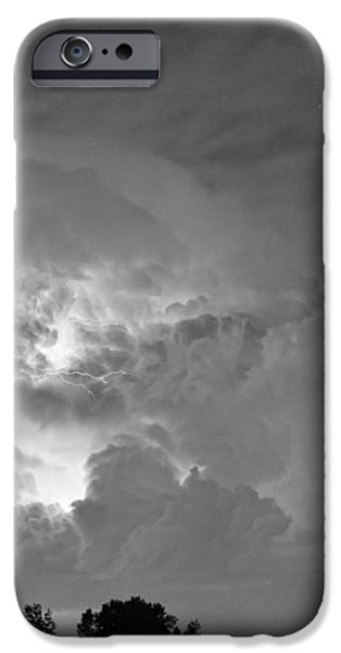 Black and White Light Show iPhone Case by James BO  Insogna