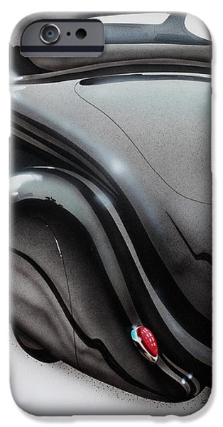 Airbrush iPhone Cases - Black Beauty iPhone Case by Richard Mordecki