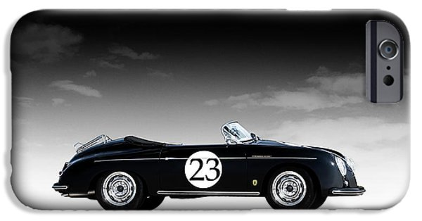Convertible iPhone Cases - Black Speedster iPhone Case by Douglas Pittman