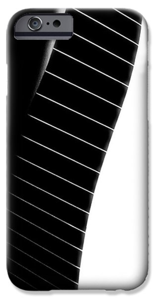 Abnormal iPhone Cases - Black Tie iPhone Case by Newel Hunter