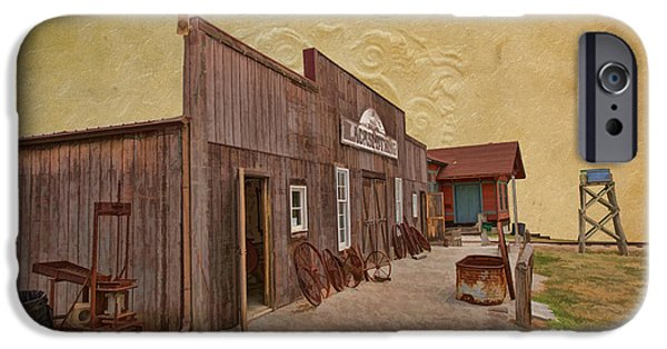 Work Tool iPhone Cases - Blacksmith Shop iPhone Case by Liane Wright