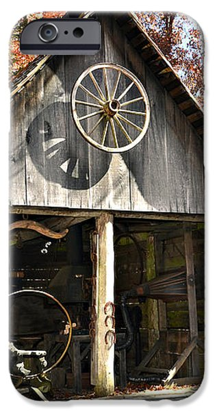 Blacksmith Shop iPhone Case by Susan Leggett