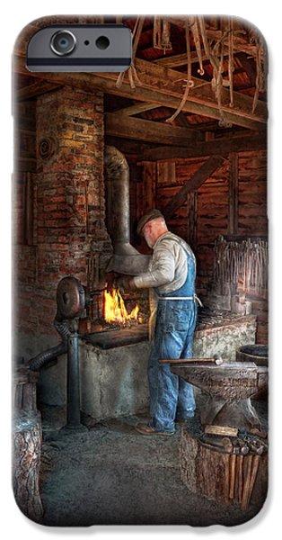 Best Sellers -  - Work Tool iPhone Cases - Blacksmith - The importance of the Blacksmith iPhone Case by Mike Savad