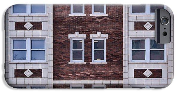 Nebraska iPhone Cases - Blackstone Building #2 - Omaha - Nebraska iPhone Case by Nikolyn McDonald