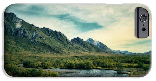 Yukon iPhone Cases - Blackstone River  iPhone Case by Priska Wettstein