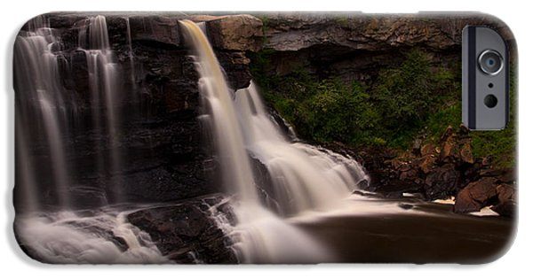 Virginia Photographs iPhone Cases - Blackwater Falls iPhone Case by Shane Holsclaw