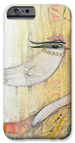 Albena iPhone Cases - Blanche iPhone Case by Albena Vatcheva