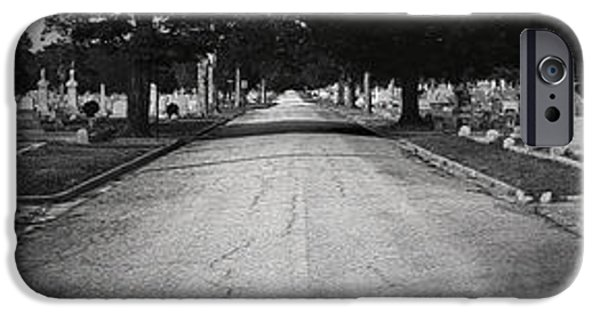 Cemetary iPhone Cases - Blandford Cemetary iPhone Case by Brian Archer