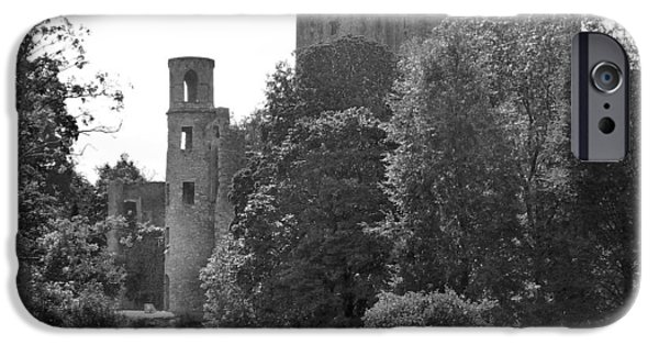 Shrub iPhone Cases - Blarney Castle iPhone Case by Mike McGlothlen