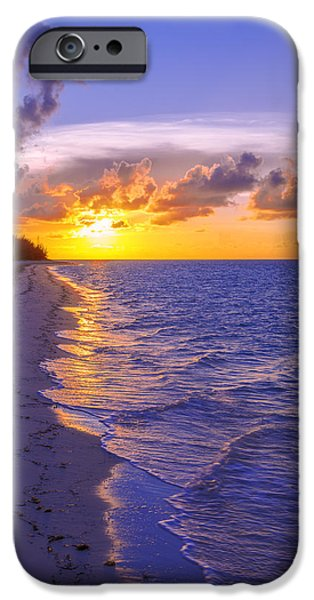 Waterscape iPhone Cases - Blaze iPhone Case by Chad Dutson