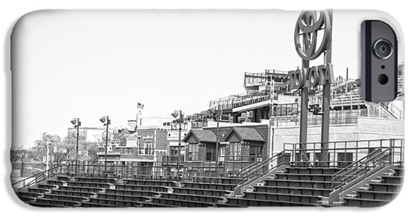 Wrigley iPhone Cases - Bleachers iPhone Case by David Bearden