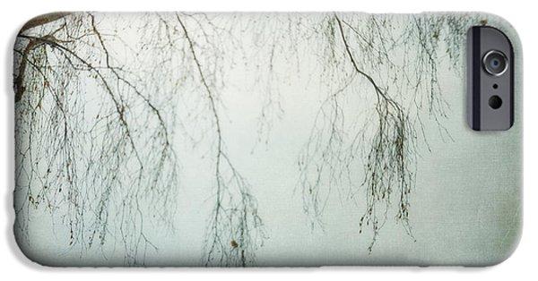 Botanical Photographs iPhone Cases - bleakly III iPhone Case by Priska Wettstein