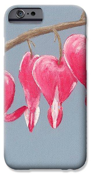 Bleeding Hearts iPhone Case by Anastasiya Malakhova