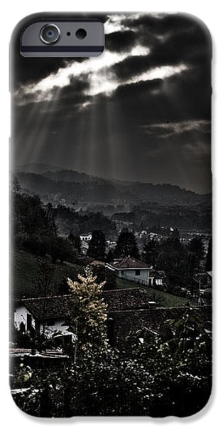 Blessed by light iPhone Case by Michael  Bjerg