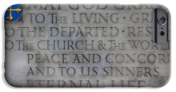 Historic Site iPhone Cases - Blessing iPhone Case by Stephen Stookey