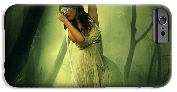 Creative Manipulation iPhone Cases - Blindfolded iPhone Case by Ester  Rogers