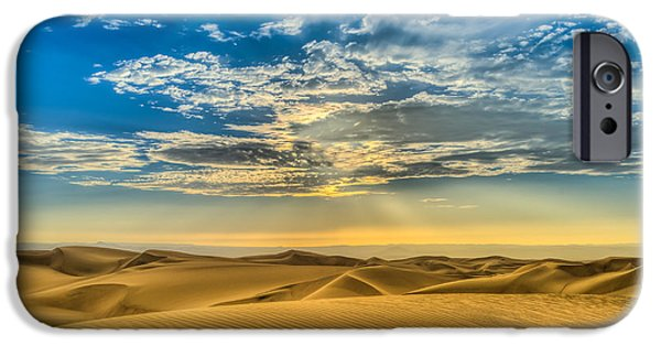 Sand Dunes iPhone Cases - Bliss iPhone Case by Dado Molina