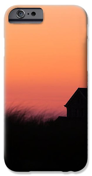 Block Island North Lighthouse iPhone Case by Diane Diederich