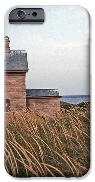 BLOCK ISLAND NORTH WEST LIGHTHOUSE iPhone Case by Skip Willits