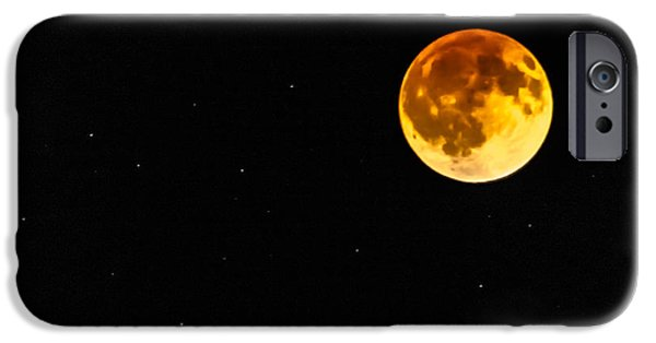 Prescott iPhone Cases - Blood Eclipse iPhone Case by Alan Marlowe