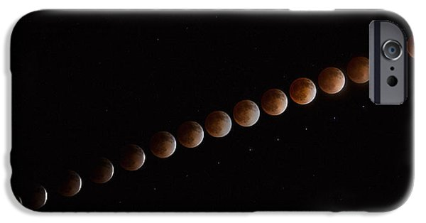 Astrophotography iPhone Cases - Blood Line iPhone Case by Peter Tellone