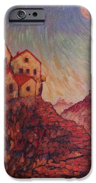 Mechanics Paintings iPhone Cases - True Self Verses Ego False Self iPhone Case by Charles Munn