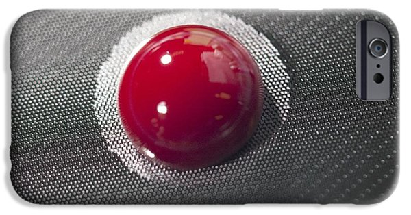 Chip iPhone Cases - Blood On A Cancer-detecting iPhone Case by Volker Steger