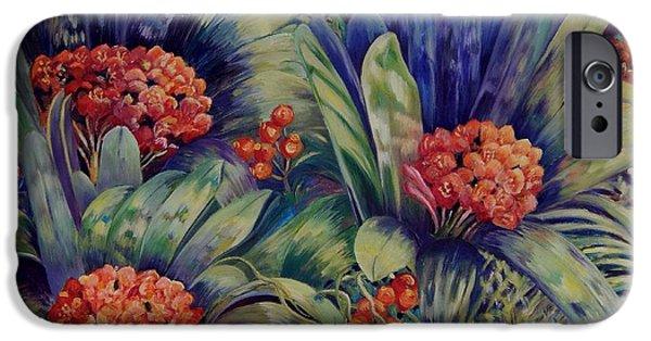 Carolinestreetart iPhone Cases - Blooming Gorgeous iPhone Case by Caroline Street