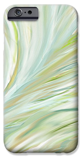 Blooming Grass iPhone Case by Lourry Legarde