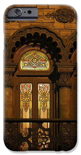 Bloomingdale's at Home in Chicago's Medinah Temple iPhone Case by Christine Till