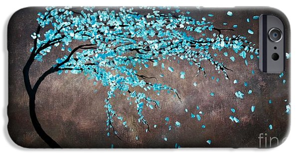 Michael Mixed Media iPhone Cases - Blossoms In The Wind iPhone Case by Mike Grubb