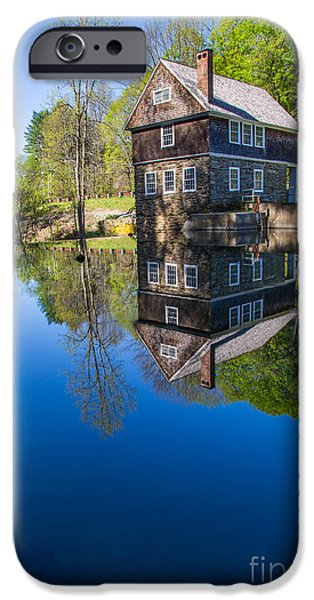 Blow Me Down Mill Cornish New Hampshire iPhone Case by Edward Fielding