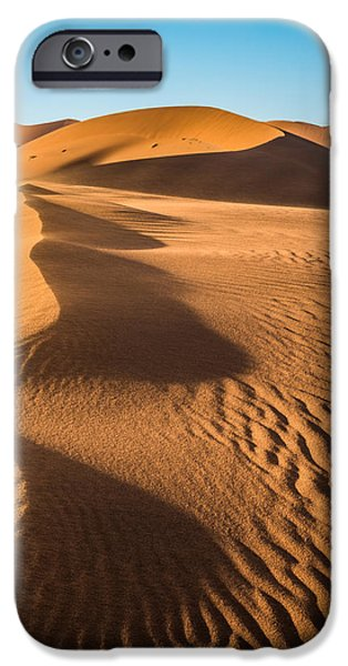Afternoon iPhone Cases - Blowing Sand iPhone Case by Duane Miller