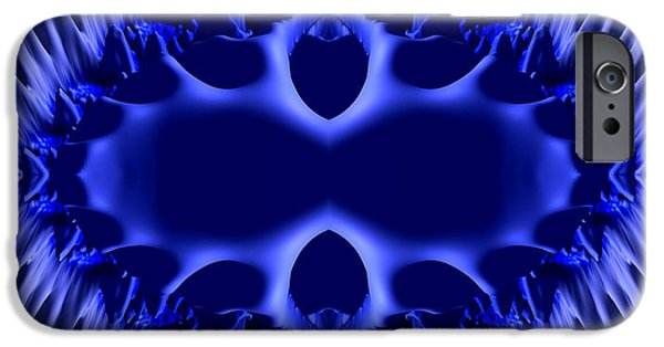 Orbital iPhone Cases - Blue Bliss iPhone Case by Bruce Stanfield
