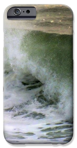 BLUE BOARD iPhone Case by KAREN WILES