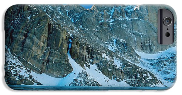 Lady Washington iPhone Cases - Blue Chasm iPhone Case by Eric Glaser