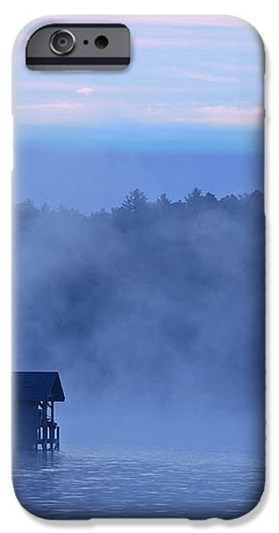 Blue Dawn Mist iPhone Case by Susan Leggett