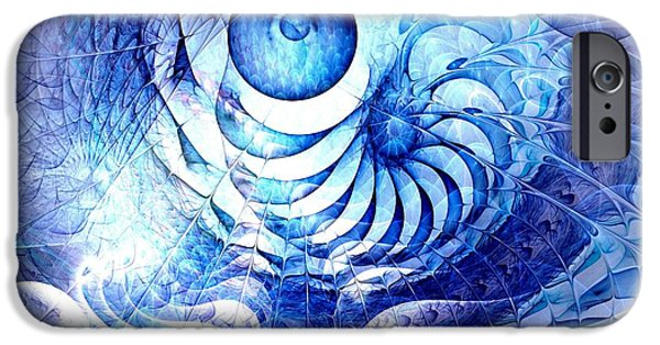 Play iPhone Cases - Blue Dream iPhone Case by Anastasiya Malakhova