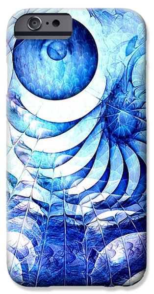 Blue Dream iPhone Case by Anastasiya Malakhova