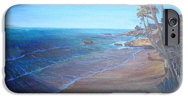 Heisler Park iPhone Cases - Blue Dream North iPhone Case by Ruthie Briggs-Greenberg