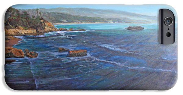 Heisler Park iPhone Cases - Blue Dream South iPhone Case by Ruthie Briggs-Greenberg