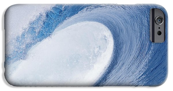 Ocean Art Photography iPhone Cases - Blue Eye iPhone Case by Sean Davey