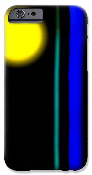 Blue Glass iPhone Case by Bob Orsillo