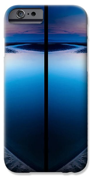 Blue Hour Diptych iPhone Case by Adrian Evans