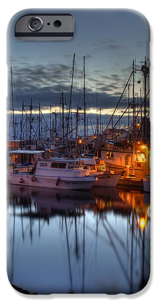 Blue Hour iPhone Case by Randy Hall
